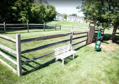 Pet-friendly dog park for Brookfield residents and pets in Macungie, PA apartment rentals